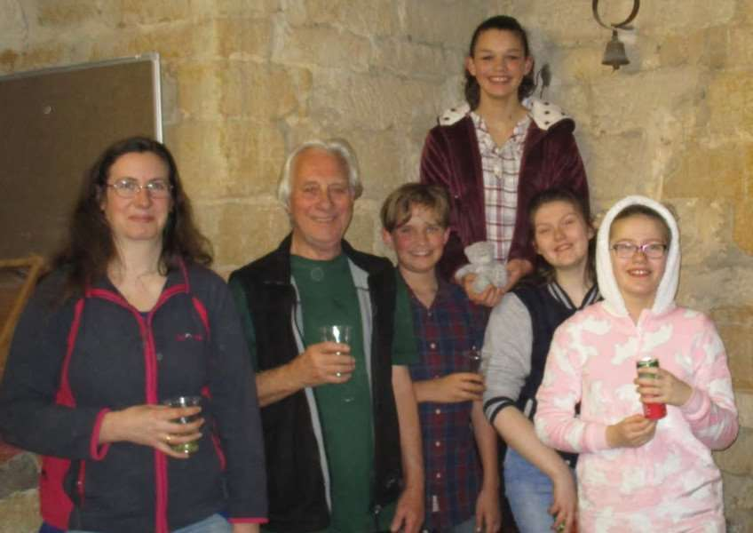 Barrowby bell ringers