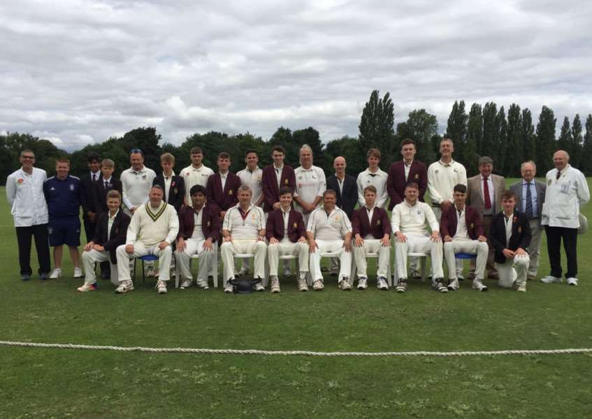 King's School v Old Boys 40-over match