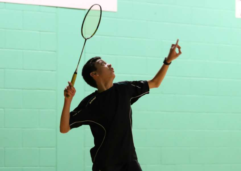 Ryan Curtis in action on court. Photo: Craig Burgess