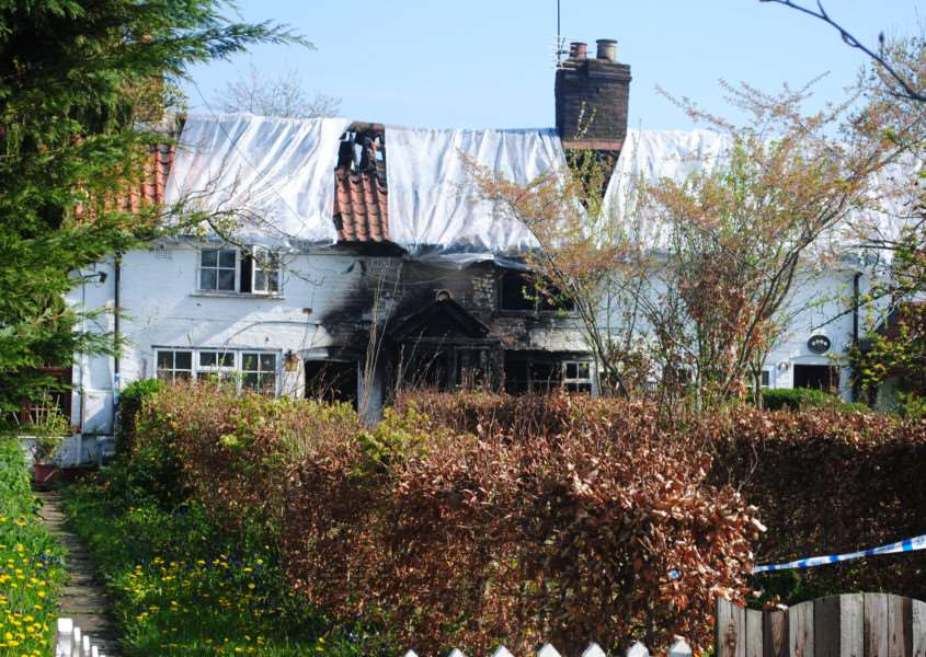 The fatal Bottesford fire in Grantham Road.