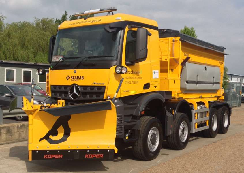 Gritter drivers needed