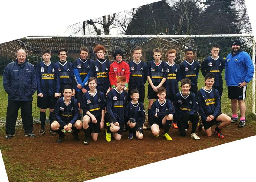 Caythorpe and Fulbeck under-15s.