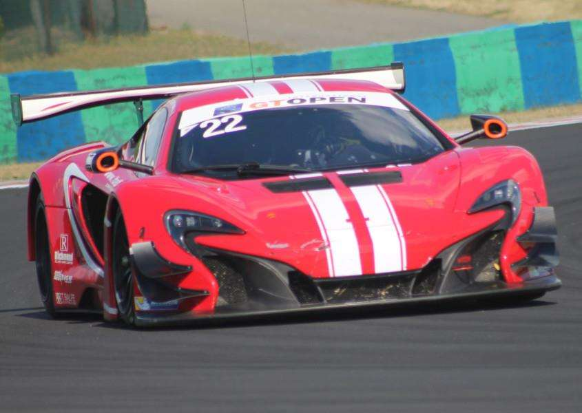 The Balfe Motorsport McLaren