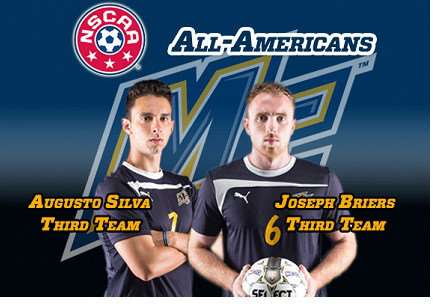 Merrimack Warriors' All-Americans duo.
