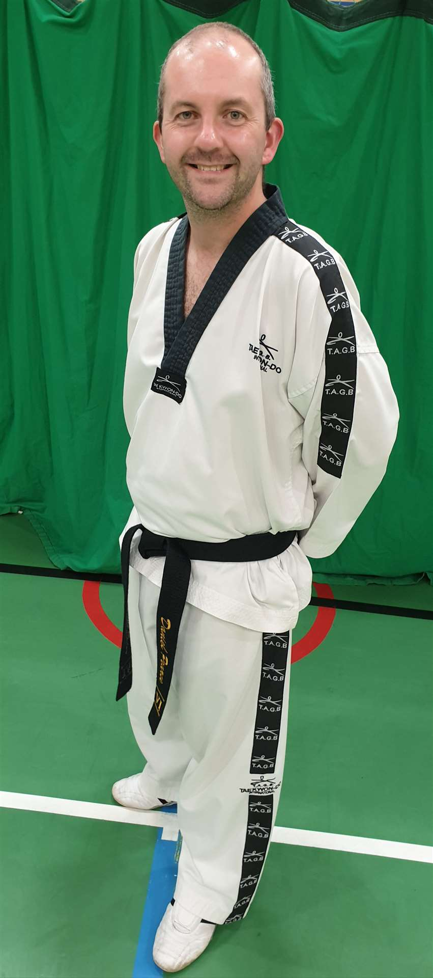 Tae Kwon-Do expert Daniel Pearce is celebrating 30 years in martial arts. (42192758)