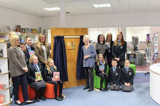 Dame Jacqueline opens Priory Ruskin Academy's new reading room. eE8Q7TmN4ApDvFoM5R3X