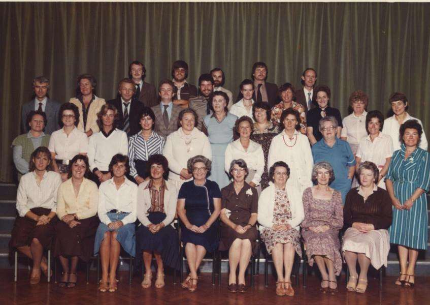 Walton Girls' High School, 1984.