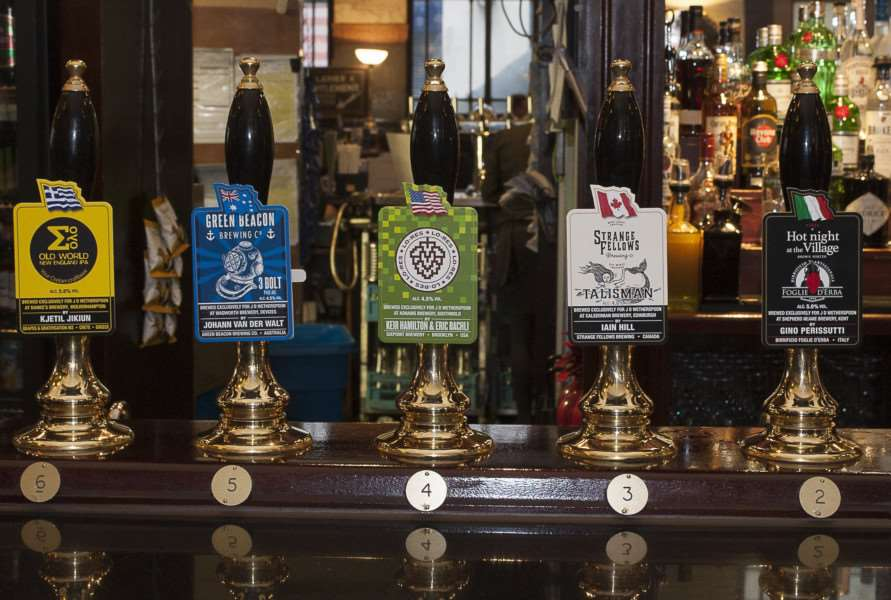 Wetherspoons is running a beer festival starting Wednesday March 14