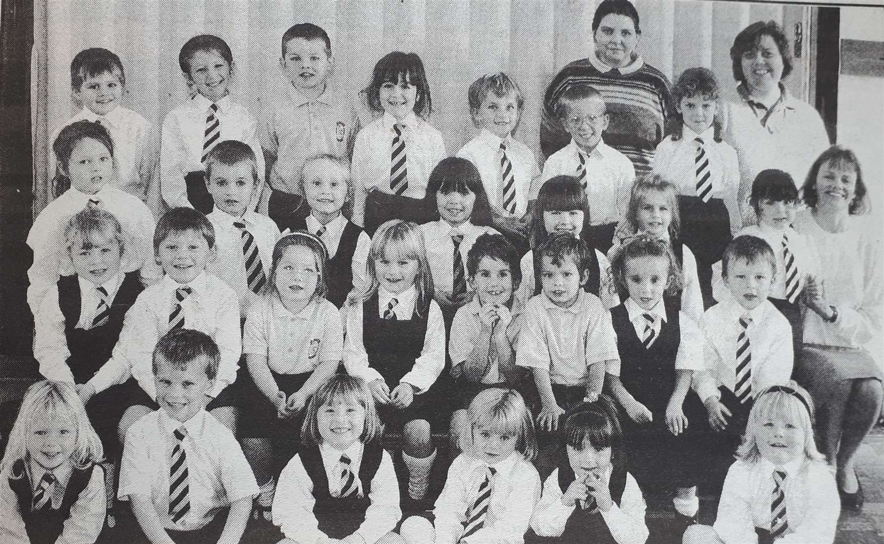 Class of the Week: St Mary's Primary School reception class in January 1996. (33435954)