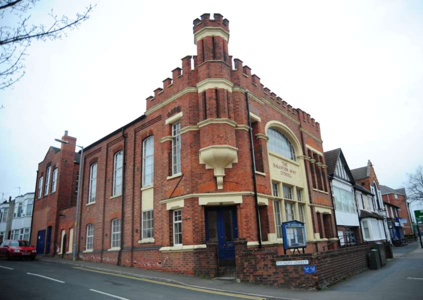 The Salvation Army has moved out of the citadel on London Road, Grantham. 169D ENGEMN00120130425085201