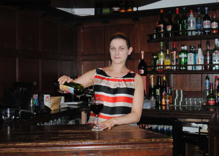 Changes ahead: Owner Amy Mcnamara is keen to move with the times by opening a wine bar.