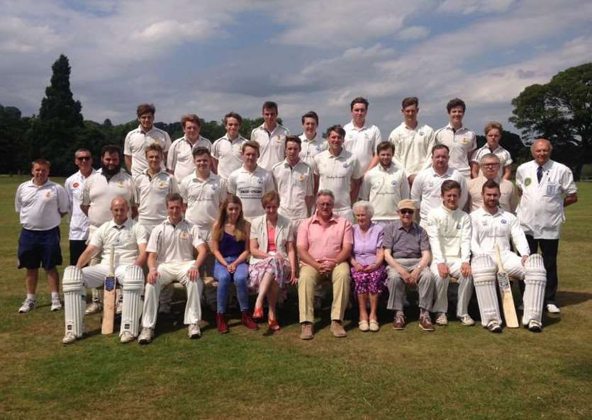 Belvoir Select XI and King's School XI pay tribute to Euan Coulthard. ua0AZJKw__qwEQPf9MMy