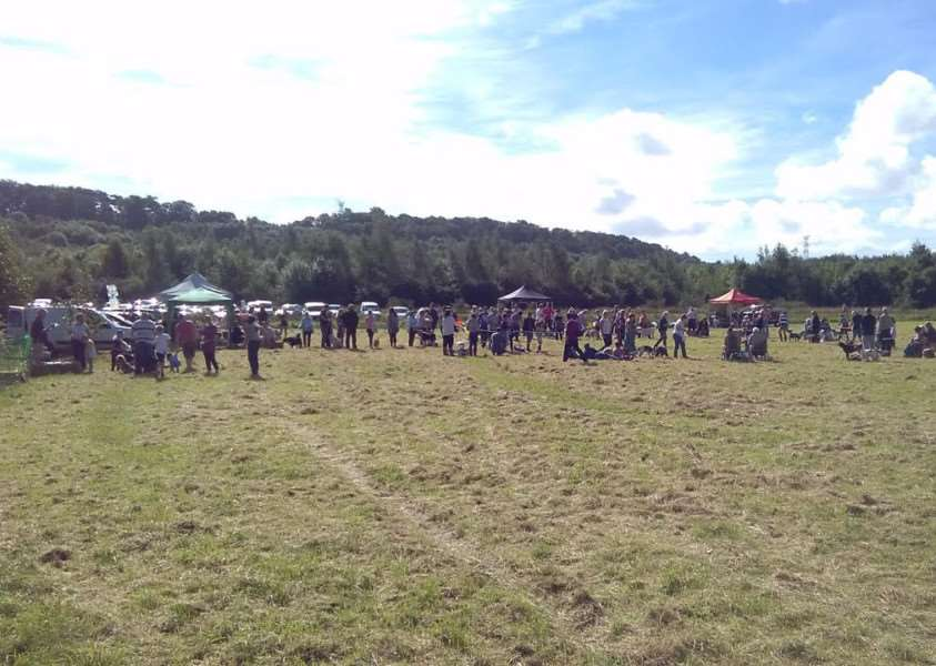 Woodland Trust's dog show at Londonthorpe Wood