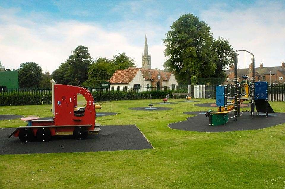 Wyndham toddler play area. Photo: Gerald Wright (26143084)