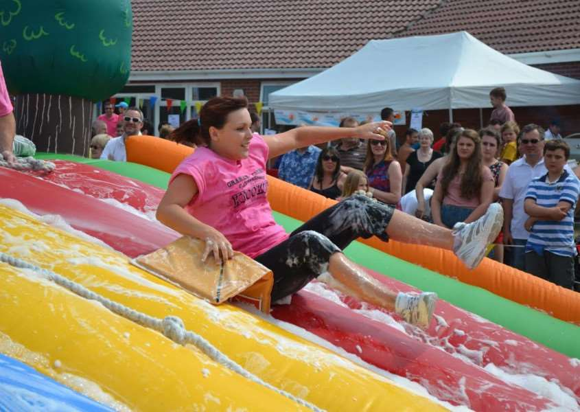 Last year's It's a Knockout.