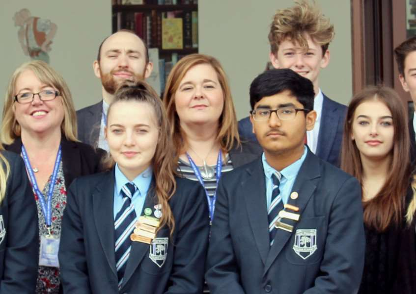 Staff, parents and pupils have all been praised after Priory Ruskin Academy topped the Government's league table for progress of pupils.