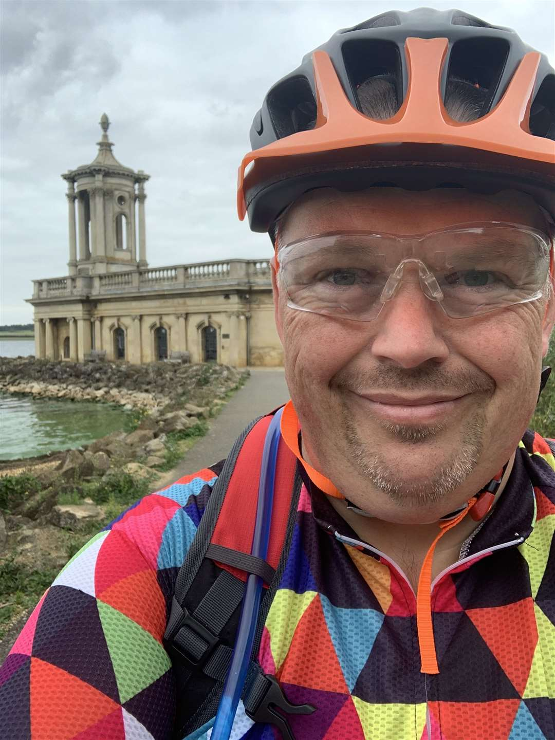 Ian Hides took part in Cycle 300 to raise £300 for Cancer Research UK. (42498741)