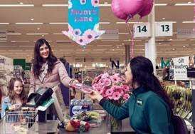 Morrisons will open lanes for mums only.