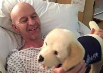 Mark Jones had 32 years of service as a police officer, and was a dog handler for the British Transport Police.