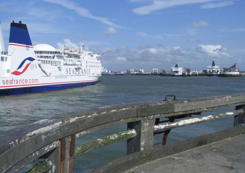 Road and rail delays at Calais are forcing hauliers to return to sea crossings.