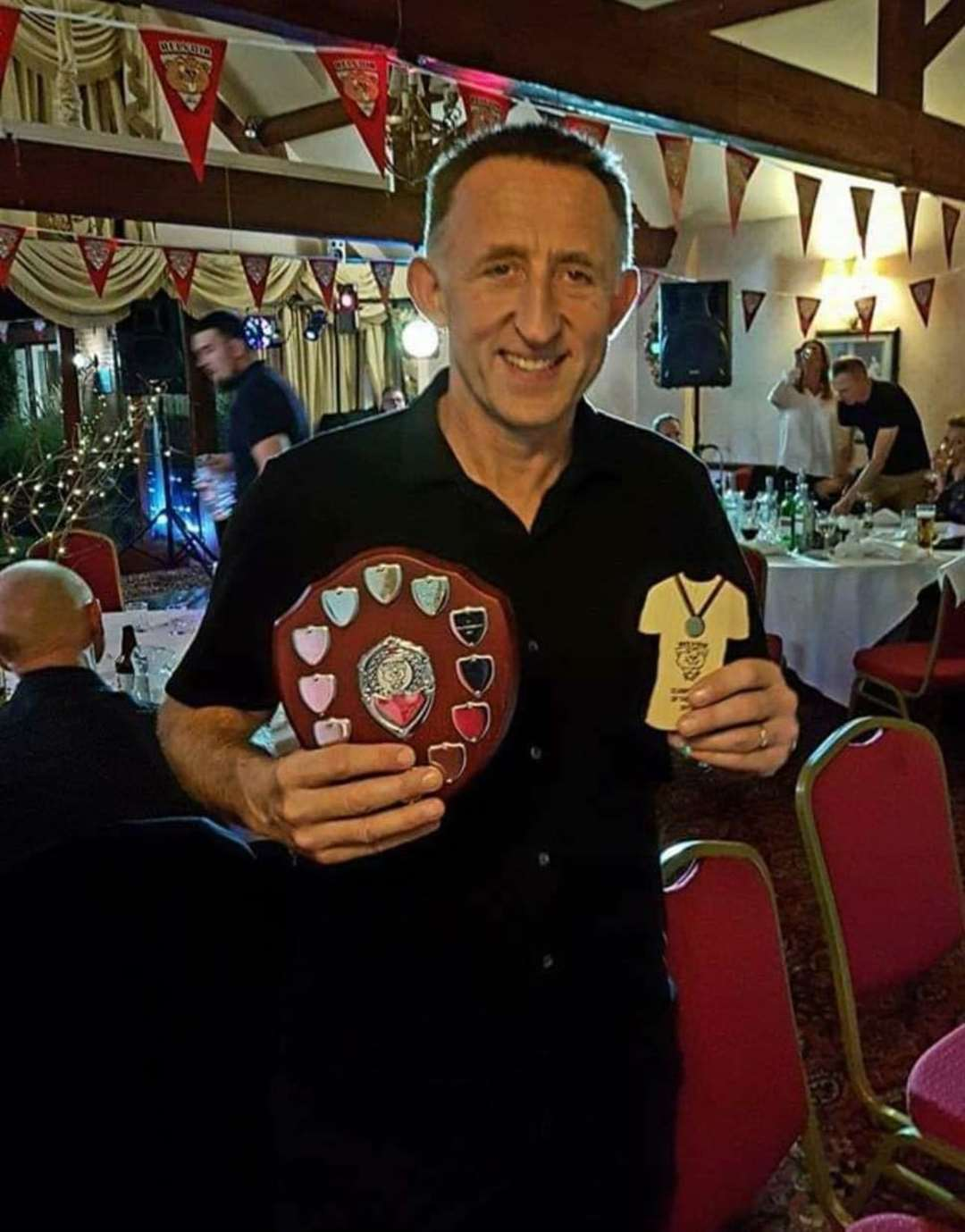 Alan was awarded Clubman of the year for BTC (43190725)