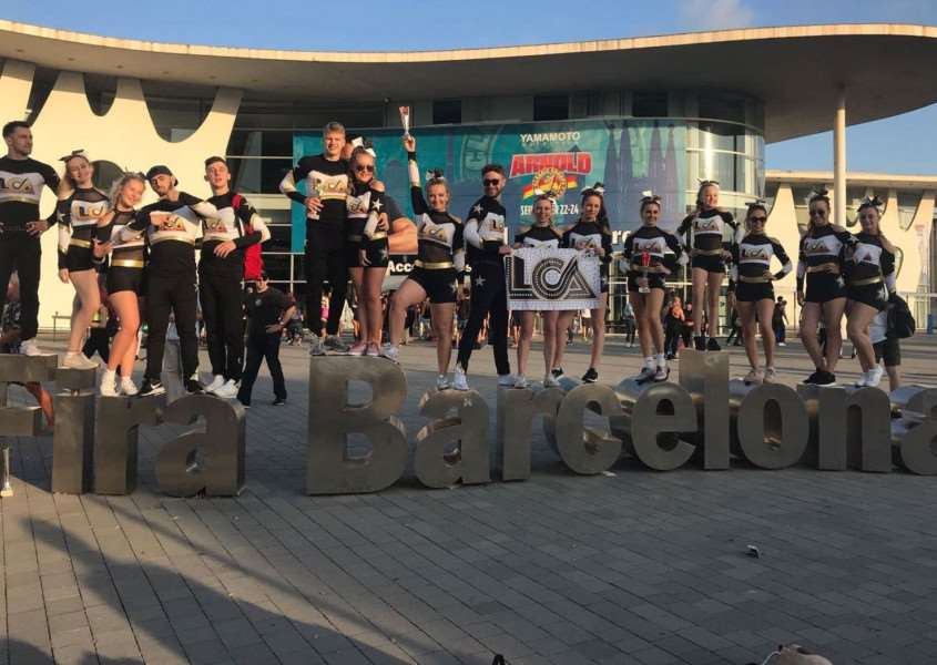 Lincolnshire Cheer Academy (LCA) Falcons have just returned from Barcelona.