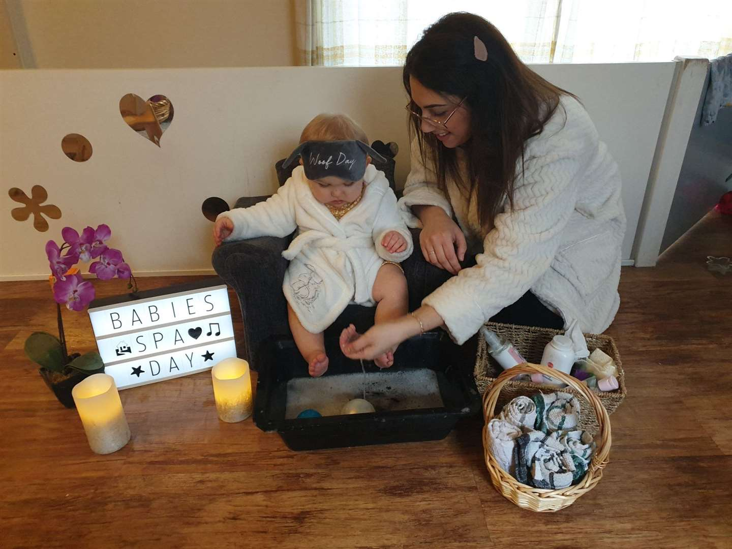 Babies spa day at My Nursery. (44277127)