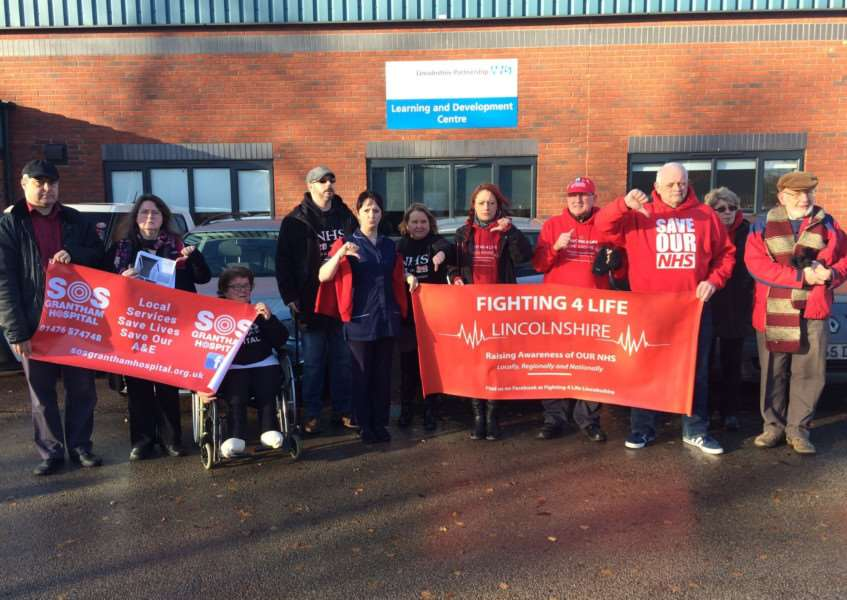 Grantham Hospital campaigners