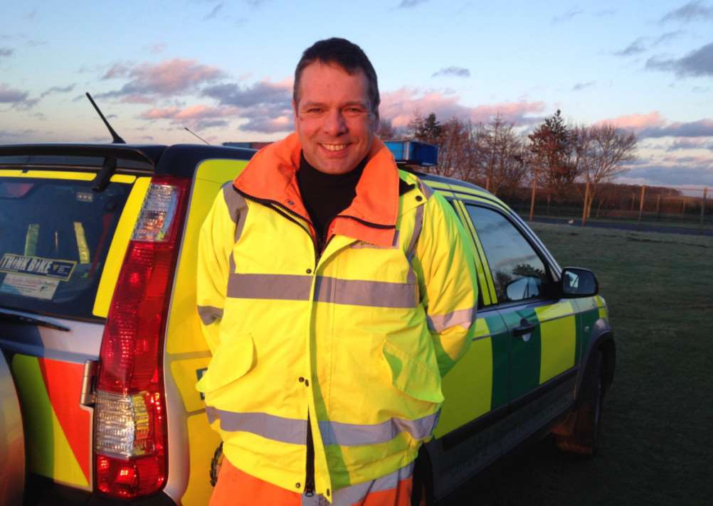 Squadron leader, Dr Adrian Dawson, is the newest recruit to the East Midlands Immediate Care Scheme (EMICS) in Lincolnshire.