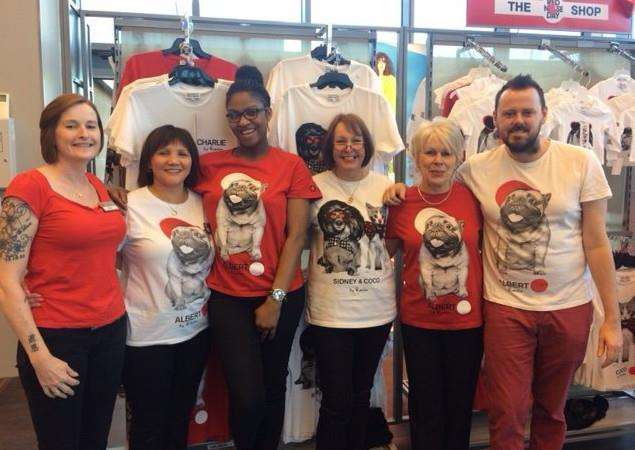 Staff at TK Maxx have raised �4,800 for Comic Relief.