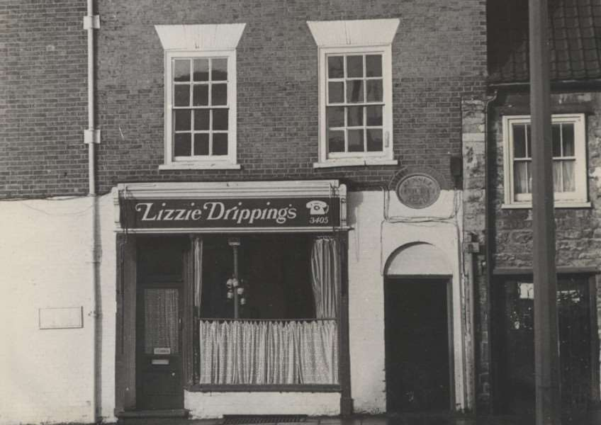 Memory Lane: Lizzie Drippings.