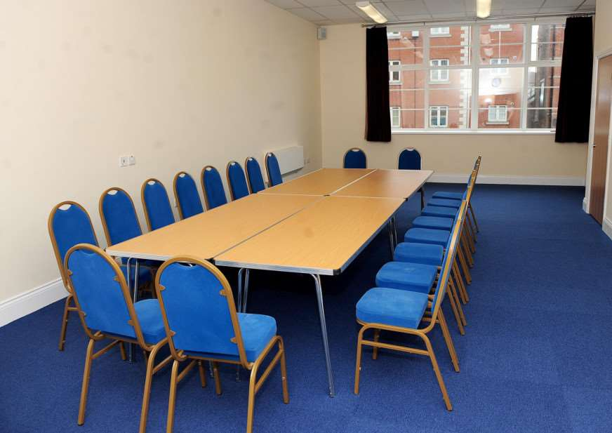 New meeting room.