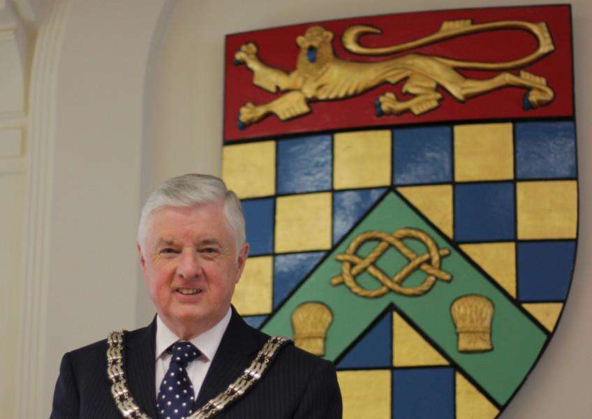 Coun Ray Wootten, chairman of South Kesteven District Council