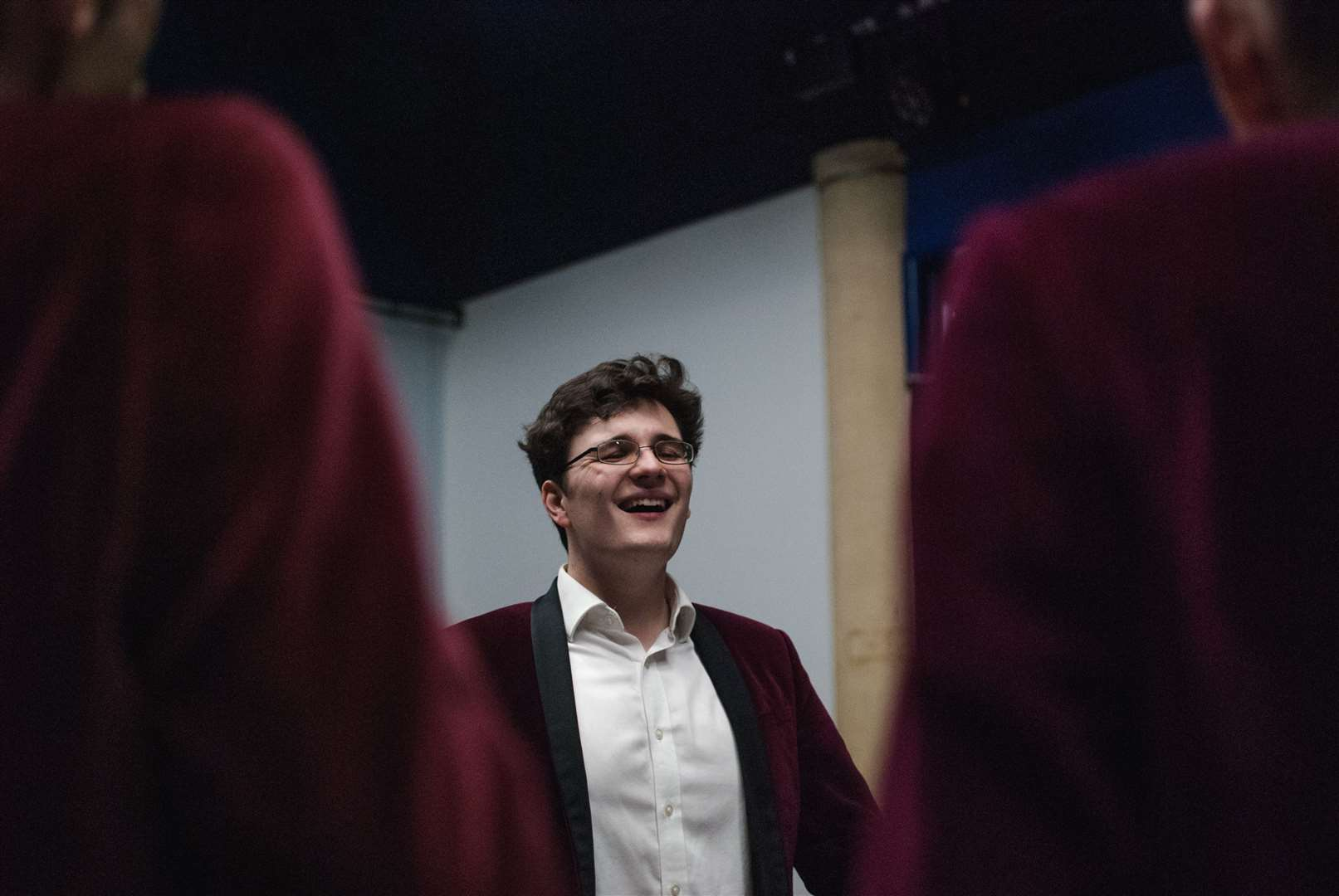 Jacob Storey will be singing with a capella group Semi-Toned at the Guildhall. (7973051)