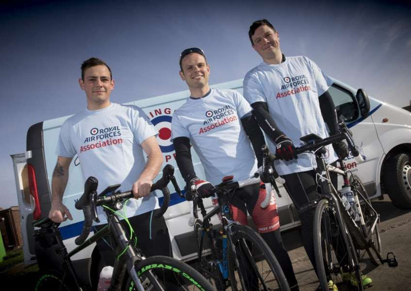 The Tour of Lincs in aid of RAF Association. Photo: MoD