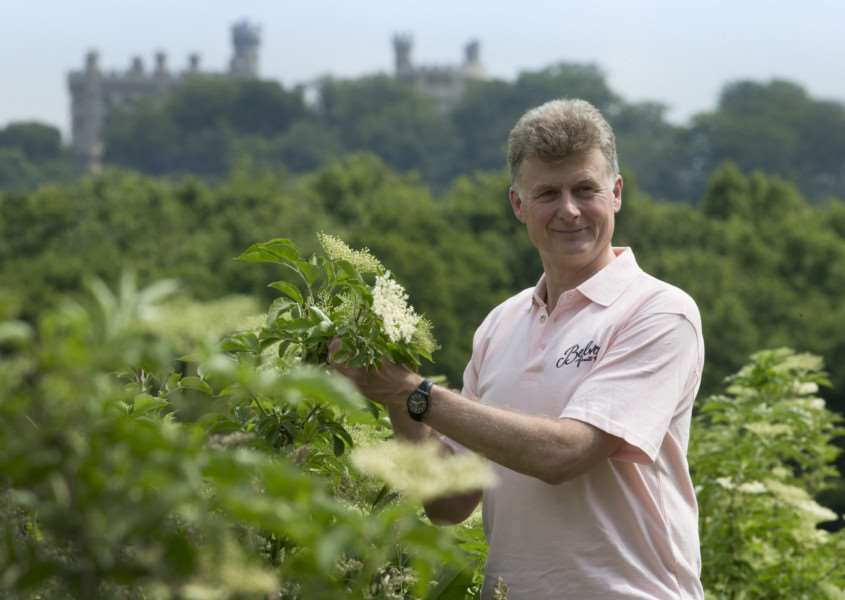 Pev Manners, managing director of Belvoir Fruits Farms. '''All Rights Reserved - F Stop Press. www.fstoppress.com. Tel: +44 (0)1335 418629 +44(0)7765 242650