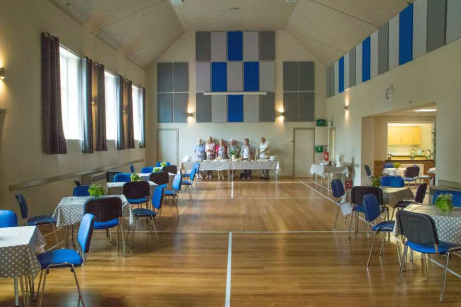 The newly refurbished Fulbeck village hall.