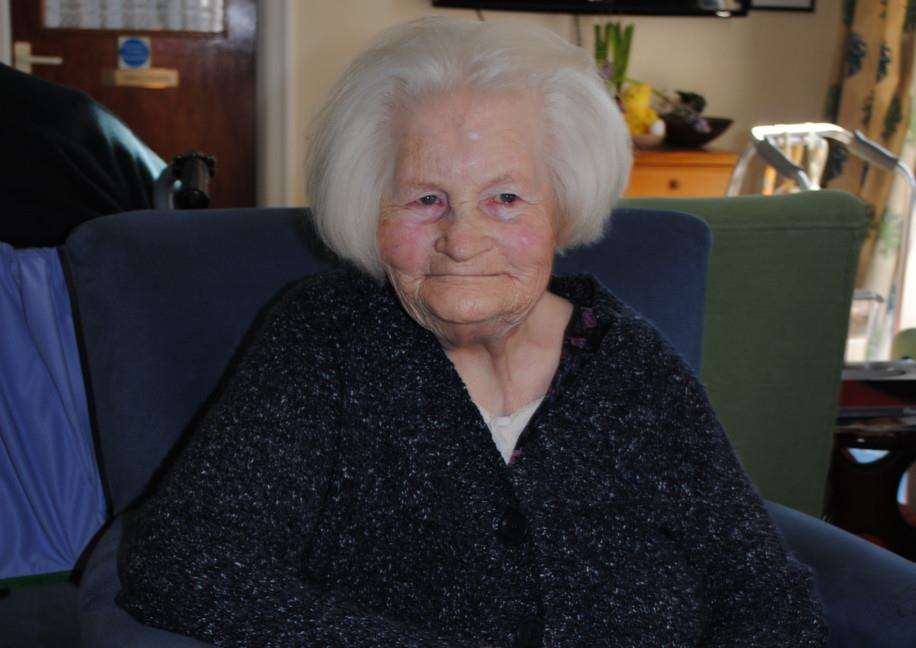 Kathleen Shevlane turned 100 on Friday.
