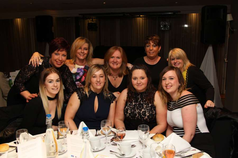 Support workers and guests, of Thera