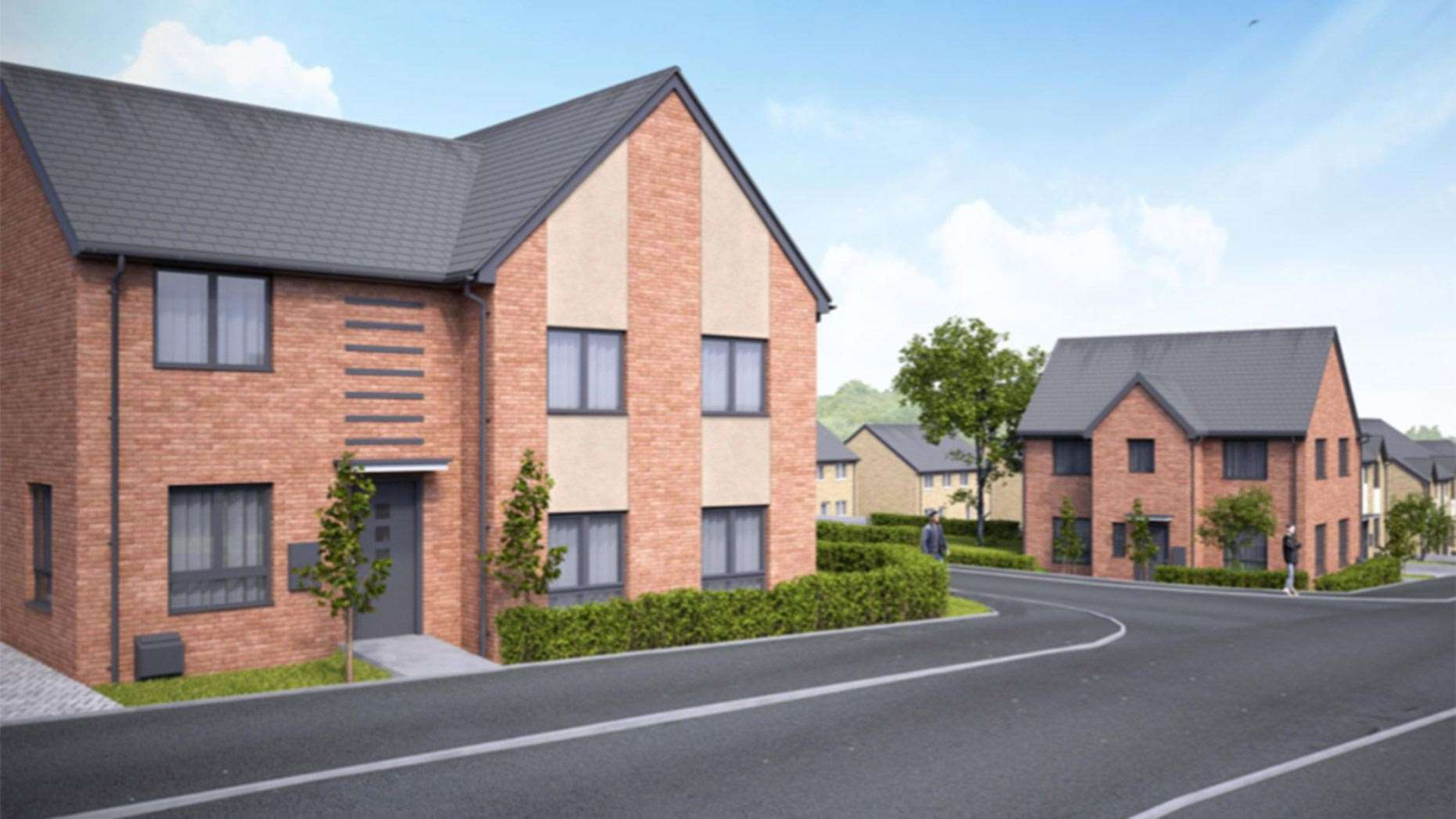 Design of the proposed development in Great Gonerby. (8595625)