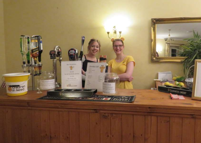 Pub quiz for children in need at Avery Lodge care home Grantham