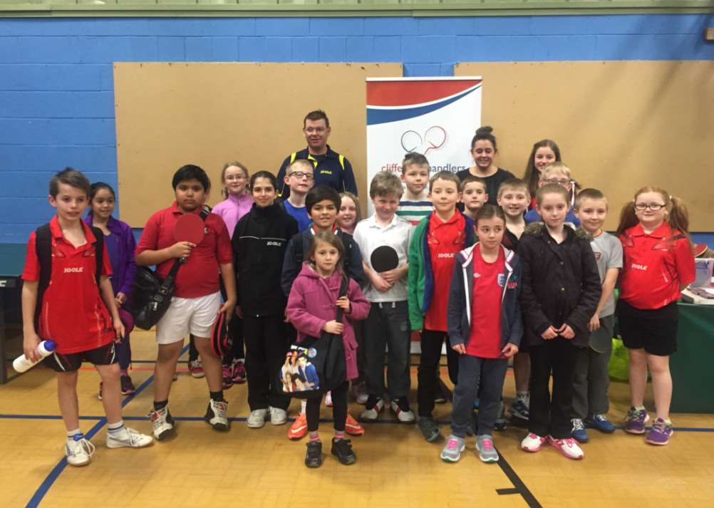 Easter Primary Schools Table Tennis Tournament