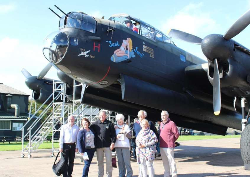 Stoke Rochford guests with Just Jane at East Kirkby.