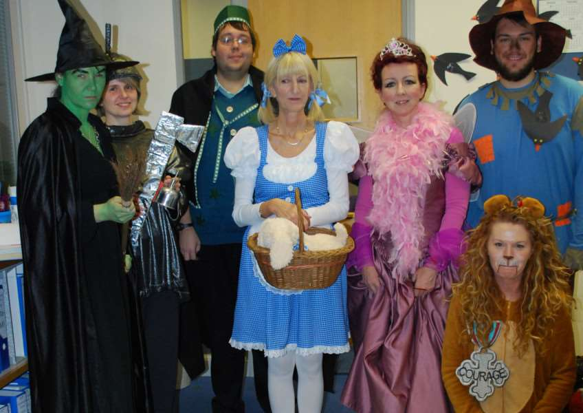 A Wizard of Oz theme for Children in Need.