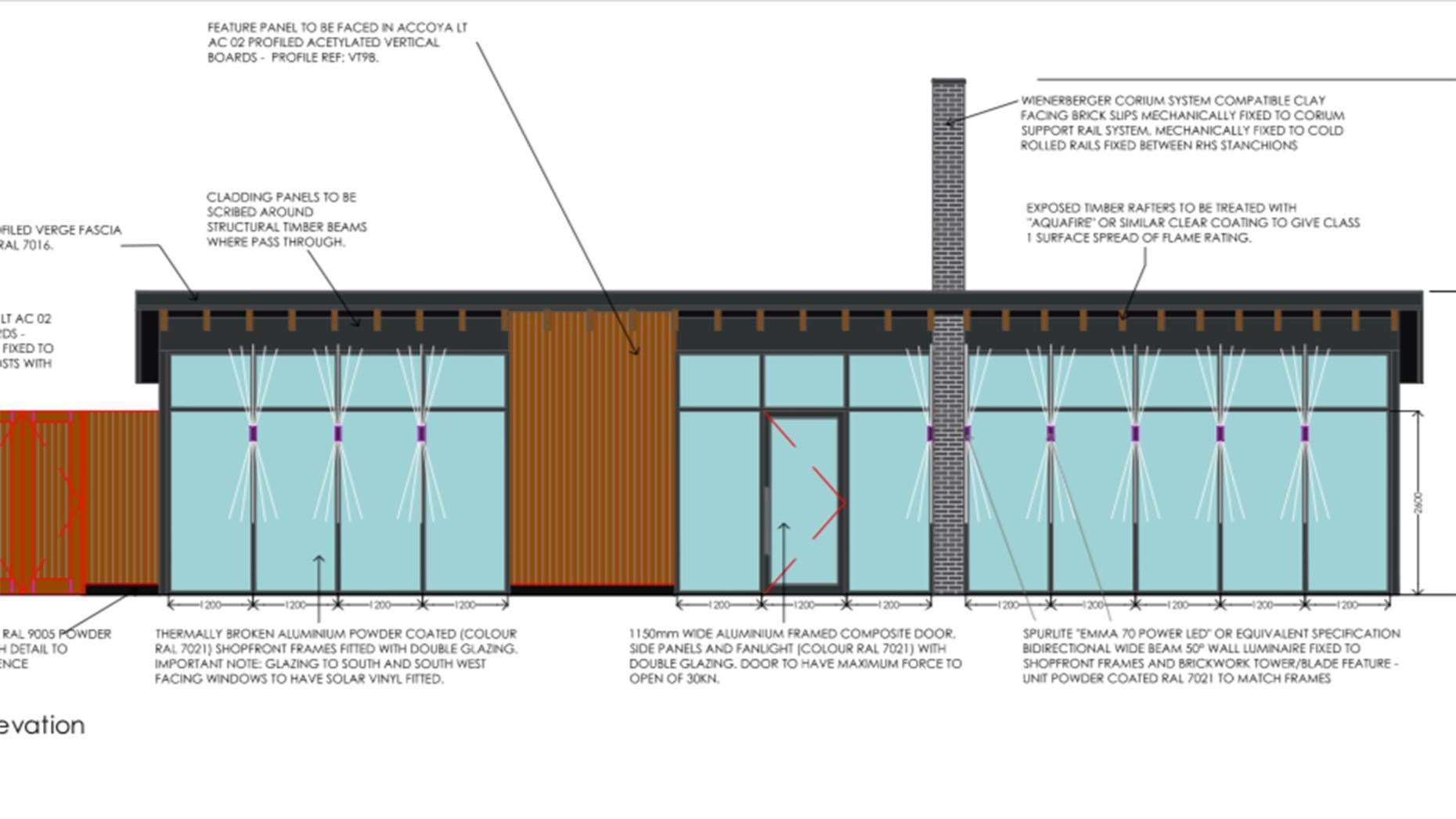 Plans for a drive-thru coffee shop at Toll Bar service station on the A1 at Marston. (9543486)