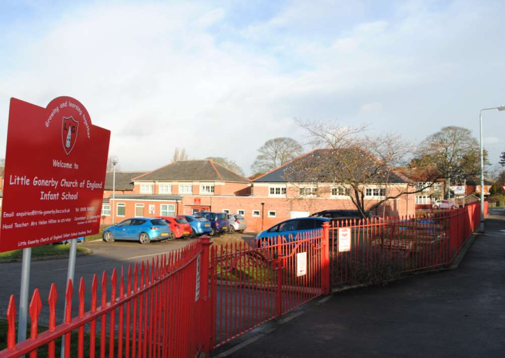 New extension at Little Gonerby Infant School. Photo: 0301A