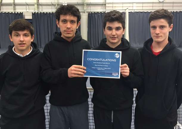 King's School tennis team.