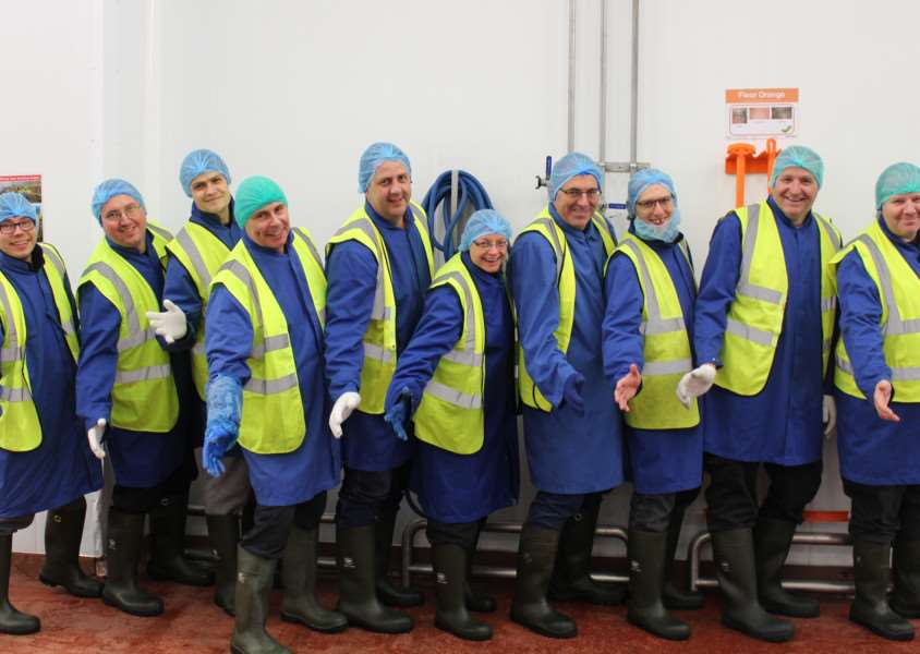Staff at fresh food manufacturer Bakkavor, which is recruiting for hundreds of extra workers.