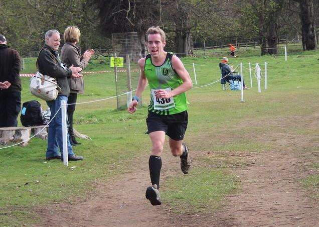 Grantham Running Club's Chris Limmer who is running in the Thames Path 100 race