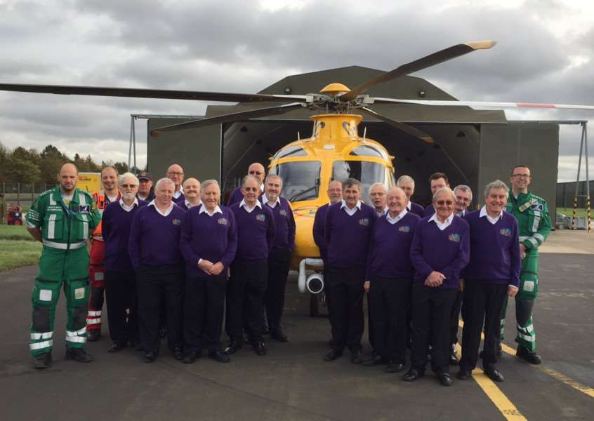 Belvoir Wassailers will raise money for the Lincs and Notts Air Ambulance with a charity gala.